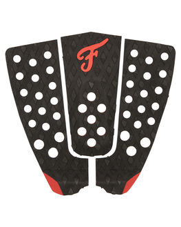 BLACK RED SURF HARDWARE FAMOUS TAILPADS - BON001BLKRD