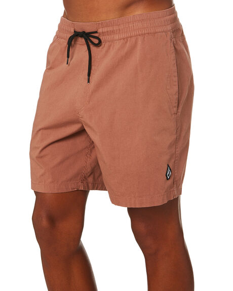 DUSTY BROWN MENS CLOTHING VOLCOM SHORTS - A1001901DBN