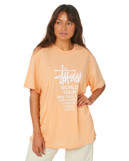 APRICOT WOMENS CLOTHING STUSSY TEES - ST105006APT