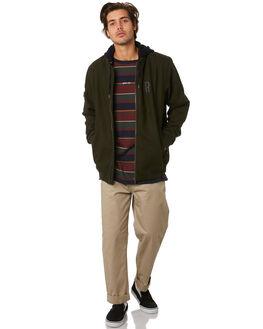 DARK GREEN MENS CLOTHING RPM JACKETS - 9WMT14ADKGRN