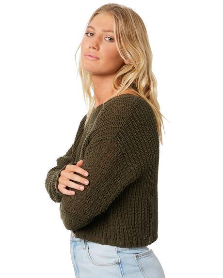 OLIVE BRANCH WOMENS CLOTHING BILLABONG KNITS + CARDIGANS - 6595796361