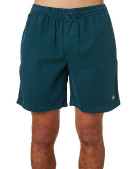 DARK TEAL MENS CLOTHING STUSSY SHORTS - ST082601DTEA
