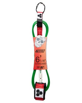 RED WHTIE GREEN BOARDSPORTS SURF CHANNEL ISLANDS LEASHES - 19480100645RWG