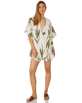 PRINT WOMENS CLOTHING ZULU AND ZEPHYR PLAYSUITS + OVERALLS - ZZ2342PRT