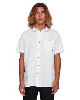 WHITE MENS CLOTHING BILLABONG SHIRTS - BB-9581209-WHT