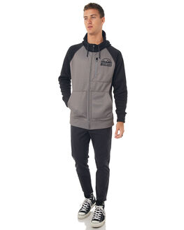 MONUMENT HEATHER MENS CLOTHING BURTON JUMPERS - 165381021
