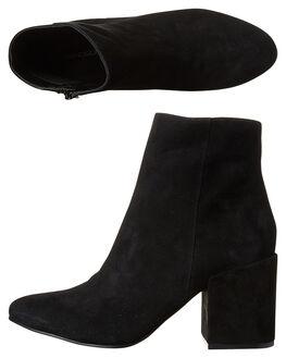 BLACK WOMENS FOOTWEAR WINDSOR SMITH BOOTS - 8971WSBLK