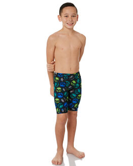 BLACK MULTI KIDS BOYS ZOGGS SWIMWEAR - 6050191BLKMT