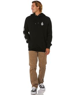 BLACK MENS CLOTHING VOLCOM JUMPERS - A4112000BLK