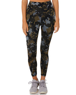 CAMO JACQUARD WOMENS CLOTHING THE UPSIDE ACTIVEWEAR - USW120077CAMJQ