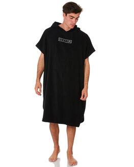 BLACK MENS ACCESSORIES RUSTY TOWELS - TWM0156BLK