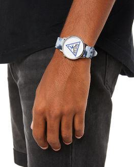 BLUE MENS ACCESSORIES GUESS ORIGINALS WATCHES - V1031M1BLU