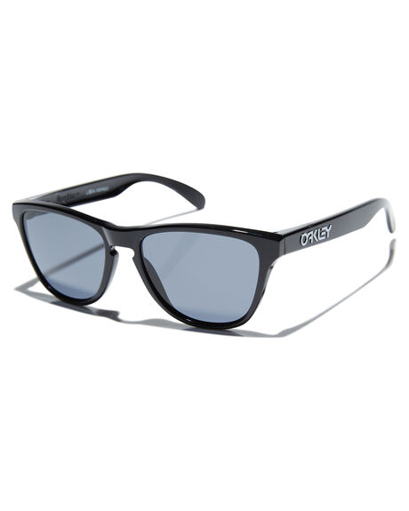 POLISHED BLACK GREY KIDS BOYS OAKLEY SUNGLASSES - OJ9006-0153PBLKR