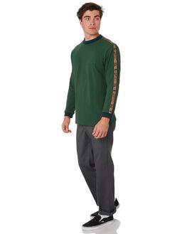 FOREST GREEN MENS CLOTHING PASS PORT TEES - PPINTERNATIONALFRGRN