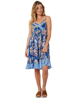 BLUE WOMENS CLOTHING THE HIDDEN WAY DRESSES - H8184445BLUE