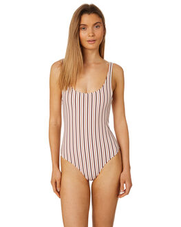 STRIPE WOMENS SWIMWEAR TIGERLILY ONE PIECES - T395595STRP