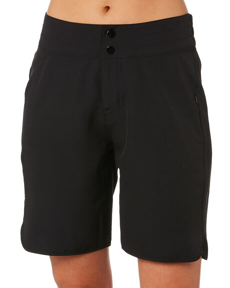 BLACK WOMENS CLOTHING SWELL SHORTS - S8202238BLK
