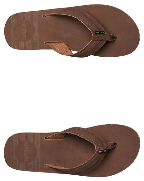 DARK CHOCOLATE MENS FOOTWEAR RIP CURL THONGS - TCTBG13020