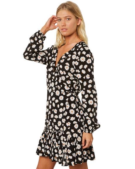 BLACK WOMENS CLOTHING BILLABONG DRESSES - 6595482BLK
