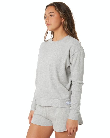 GREY WOMENS CLOTHING DK ACTIVE ACTIVEWEAR - DK07-017-GRY-XS