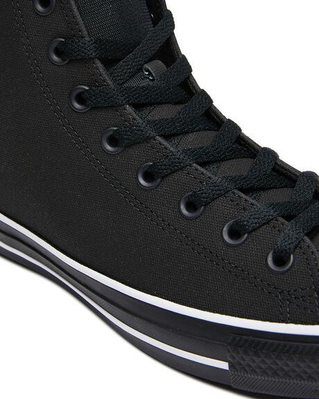 BLACK MENS FOOTWEAR CONVERSE SNEAKERS - 168710CBLK