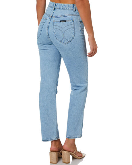 SUNDAY BLUE WOMENS CLOTHING ROLLAS JEANS - 13056-4262