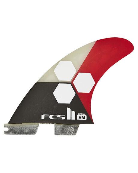 FLAME BOARDSPORTS SURF FCS FINS - FAMM-PC02-FS-RFLAME1
