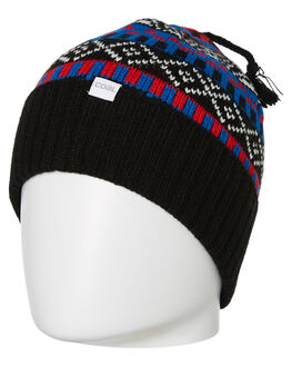 BLACK MENS ACCESSORIES COAL HEADWEAR - 244501BLK
