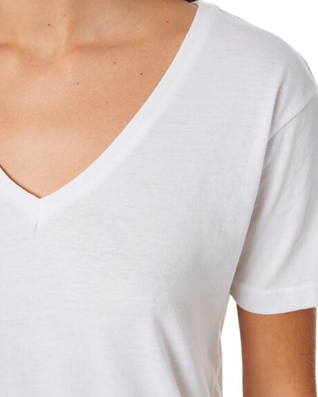WHITE WOMENS CLOTHING SILENT THEORY TEES - 6085028WHT