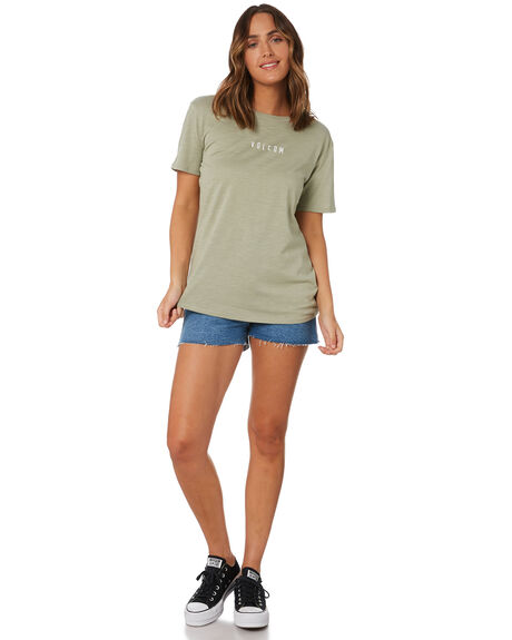 SEA GRASS WOMENS CLOTHING VOLCOM TEES - B3532075SGRS