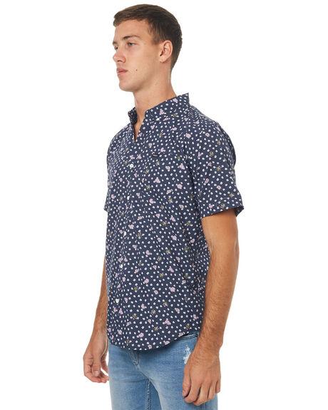 NAVY MENS CLOTHING RVCA SHIRTS - R172183NVY