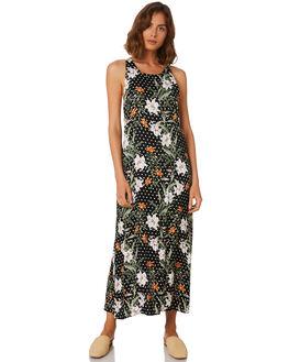 PARADISE FLORAL DA WOMENS CLOTHING MLM LABEL DRESSES - MLM507-PAR