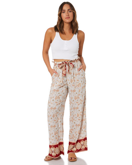 EARTH FLORAL WOMENS CLOTHING O'NEILL PANTS - 6421701ETF