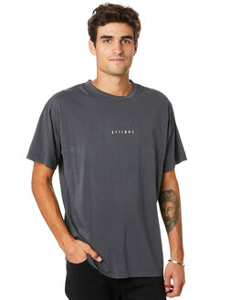EBONY MENS CLOTHING THRILLS TEES - TW20-122BEBNY