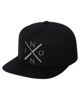 BLACK  DARK GRAY MENS ACCESSORIES NIXON HEADWEAR - C20662048