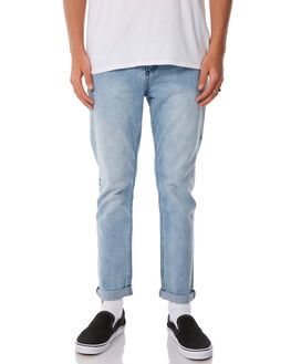 SALT BLUE MENS CLOTHING THRILLS JEANS - TDP-416SESALT