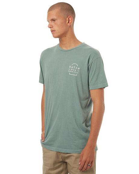 SMOKEY GREEN MENS CLOTHING KATIN TEES - TSWED16SMGRN