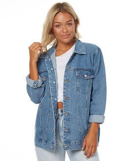 LA BLUES WOMENS CLOTHING A.BRAND JACKETS - 70871LAB