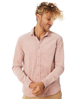PALE MAUVE MENS CLOTHING BANKS SHIRTS - WLS0068PMV