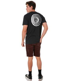 BLACK MENS CLOTHING VOLCOM TEES - A5001915BLK