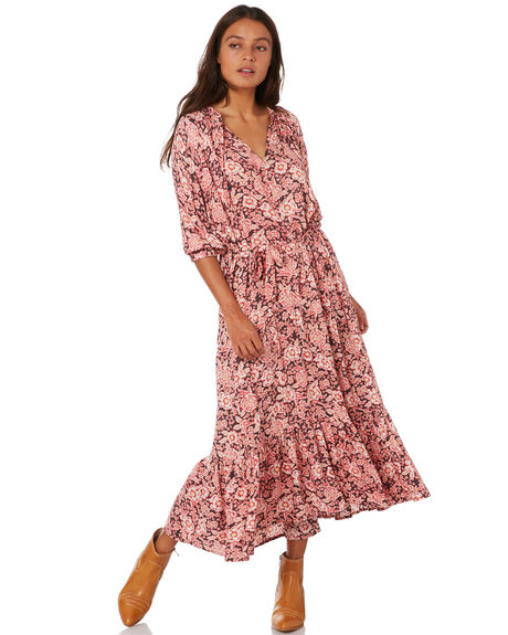 WANDERER FLORAL WOMENS CLOTHING THE HIDDEN WAY DRESSES - H8204442WNDFL