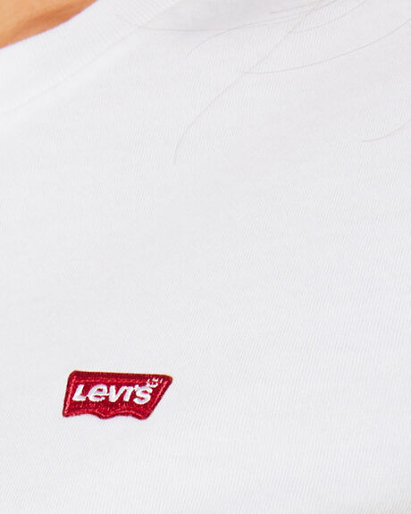 WHITE WOMENS CLOTHING LEVI'S TEES - 39185-0006WHTCN