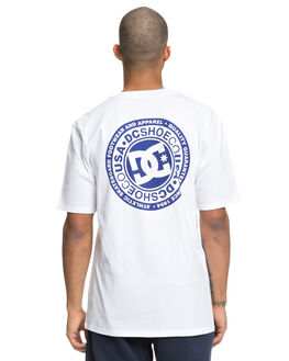 SNOW WHITE MENS CLOTHING DC SHOES TEES - UDYZT03528WBB0