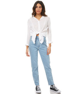 WALK AWAY WOMENS CLOTHING A.BRAND JEANS - 70898-3077