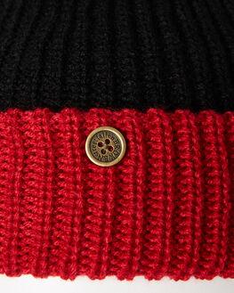 RED BLACK WOMENS ACCESSORIES FALLENBROKENSTREET HEADWEAR - W19-19-06RDBLK