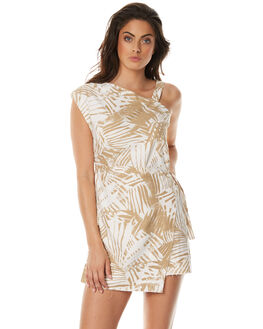 PRINT WOMENS CLOTHING ZULU AND ZEPHYR DRESSES - ZZ1571PRNT