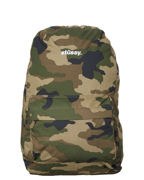 CAMO MENS ACCESSORIES STUSSY BAGS - ST785012CAMO