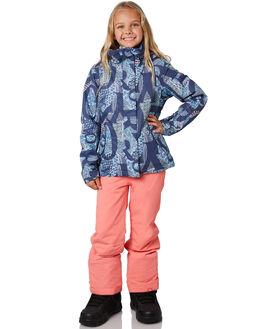 CROWN BLUE FREE GIRL BOARDSPORTS SNOW ROXY KIDS - ERGTJ03058BQY5