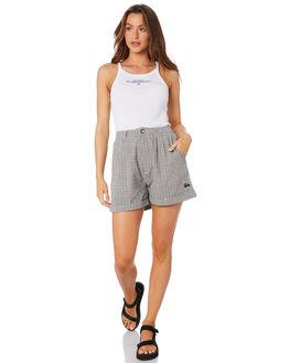 WHITE WOMENS CLOTHING STUSSY SINGLETS - ST105203WHT