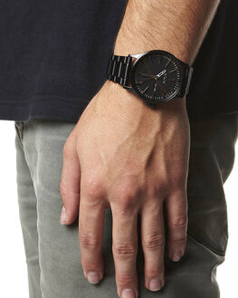 ALL BLACK MENS ACCESSORIES NIXON WATCHES - A356001ABLK